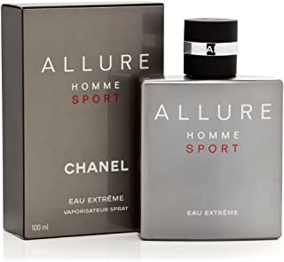 ChàNèl Allure Homme Sport Eau Extreme Eau de Parfum Spray 3.4 Oz./ 100 ml.