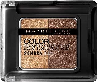 Sombra Duo Color Sensational Caliente, Maybelline, Dourado e Marrom