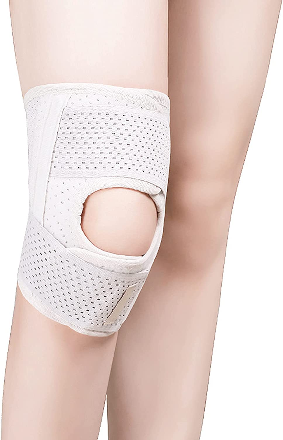 LKKHOSC Knee online shopping Pads Adjustable High material Open Patella Cloth Composite P