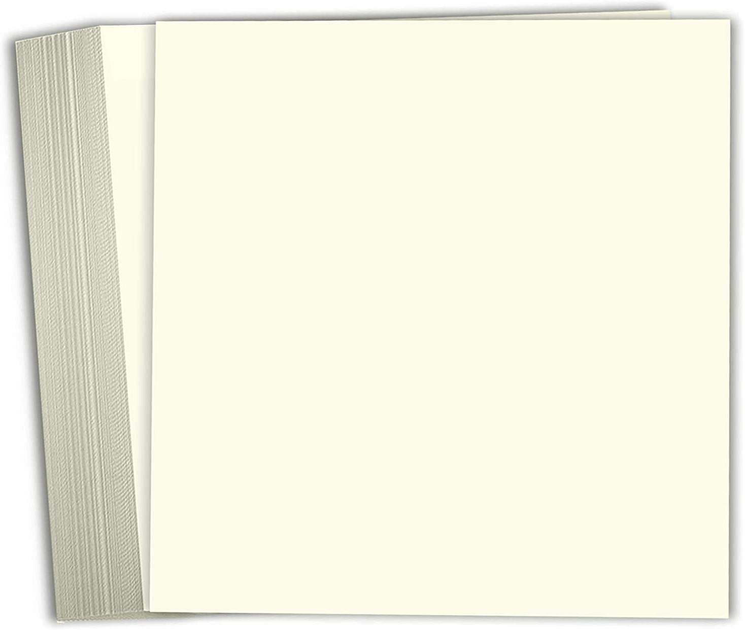 Hamilco Card Stock Scrapbook Paper 12x12 Cardstock Colored Clearance SALE! Limited time! Cream Ranking integrated 1st place