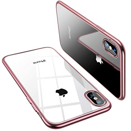 info for 50c0d 62f7e Rose Gold iPhone X Case: Amazon.co.uk