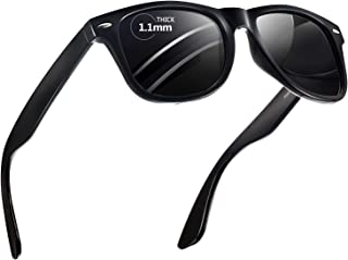849131797f Polarized Sunglasses for Men and Women - Feirdio Classic Retro Sun Glasses  Pattern Frame Mens.