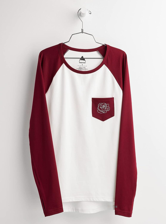 Burton Women's Roadie Base Nippon regular agency Tech 2021 new T-Shirt Layer