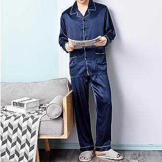 rivenditore di vendita c4a9e 33e42 Amazon.it: pigiama seta nero uomo - Pigiami e abbigliamento ...