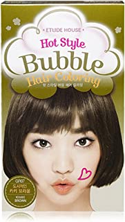 ETUDE HOUSE Hot Style Bubble Hair Coloring #GR07 KHAKI BROWN