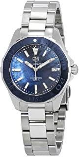 Aquaracer Blue Mother of Pearl Dial Ladies Watch WAY131S.BA0748