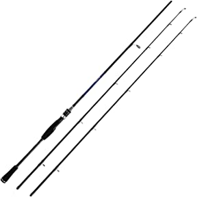 Casting Spinning Fishing Rod 1.8m 2.1m 2.4m Power M MH Carbon Rod Pole 2 Section Fiber..