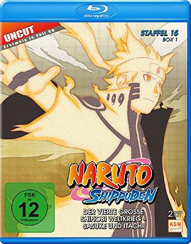 Naruto Shippuden - Staffel 15 - Box 1 (Folgen 541-554, Uncut) [Blu-ray]
