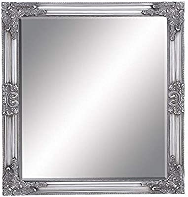 """Deco 79 Framed Bevelled Mirror, 26 by 32"""""""
