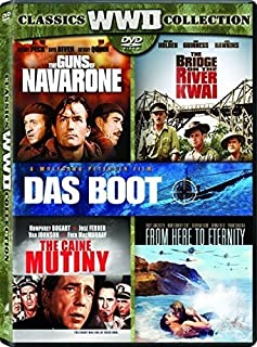 Bridge on the River Kwai, the Original Version Caine Mutiny, the / Das Boot Director's Cut from Here to Eternity 1953 Guns of Navarone, the - Set