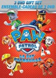 PAW Patrol 3 DVD Gift Set (Marshall and Chase: On the Case! / Pups and the Ghost Pirate / Ready, Set, Get Wet!)