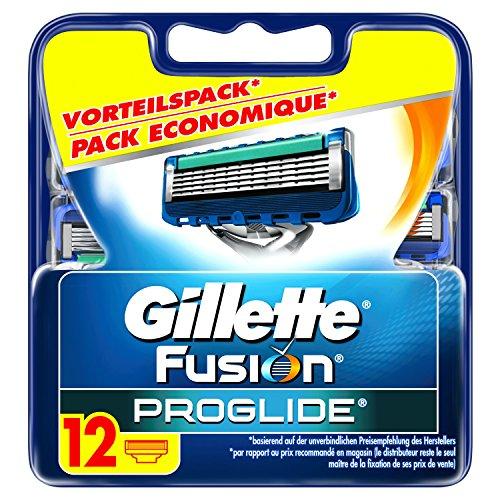 Auslaufmodell Gillette Fusion ProGlide Rasierklingen, 12 Stück