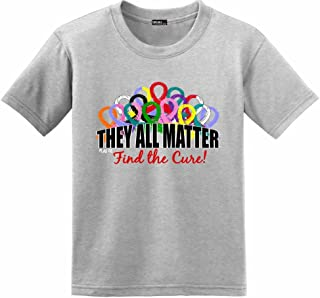 Fight Like a Girl They All Matter Cancer Awareness T-Shirt