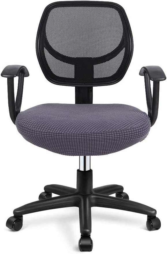 Deisy Dee Stretch Popular popular Office Computer San Antonio Mall Seat W Covers Chair Removable