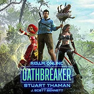 Oathbreaker: An Epic Fantasy LitRPG audiobook cover art