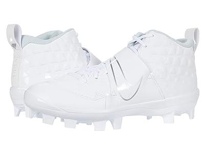 Nike Force Trout 6 Pro MCS (White/White/Pure Platinum) Men