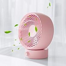 SmartDevil USB Desk Fan, Small Personal Desktop Table Fan with Strong Wind, Quiet Operation Portable Mini Fan for Home Off...
