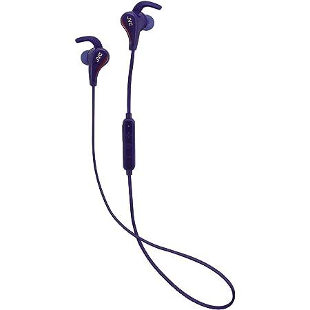 JVC Bluetooth スポーツ用ワイヤレス カナル型イヤホン 防水 ブルー HA-ET800BT-A