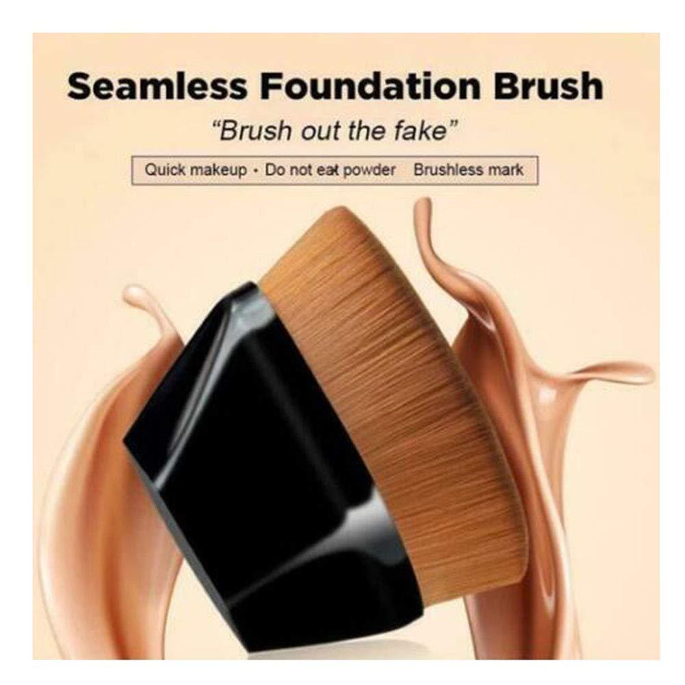 High-Density Seamless Foundation Brush BB Brushes Bargain Makeup L Cream Detroit Mall