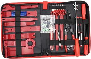Wakauto 43 peças ferramenta de remoção de painel de carro kit de ferramentas para remoção de carro e automotor