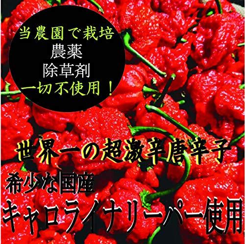 【国産原料100%】キャロライナリーパー超激辛七味唐辛子10g