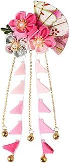 Beaupretty Clip di Capelli Giapponese Clip di Capelli Fiore Banda Cravatta Accessori per Capelli Giapponese Giapponese Tsu...