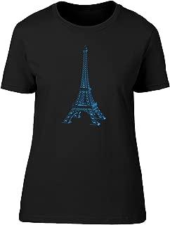 Xray Of Eiffel Tower Tee Women's -Image by Shutterstock