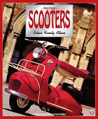 Motor Scooters: Colour Family Album (English Edition)