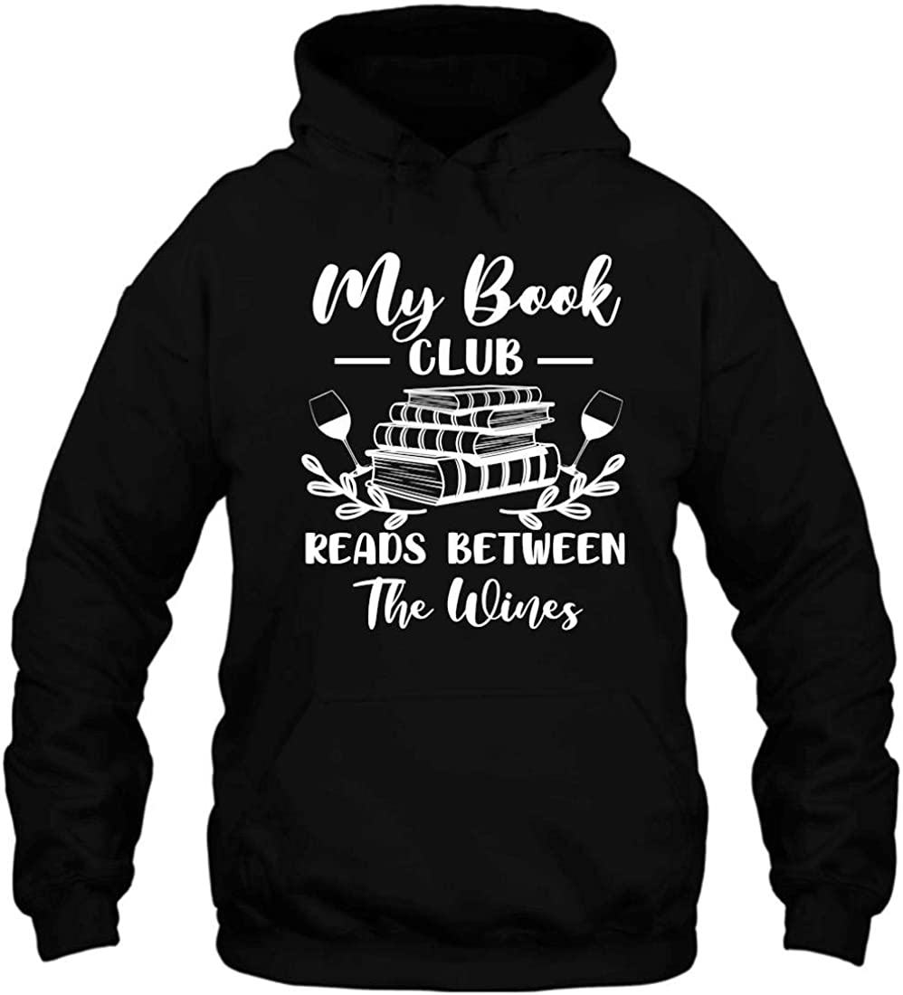 Shandy Decor Womens My Book Club V-Neck Between The Reads Wines Mesa Selling rankings Mall
