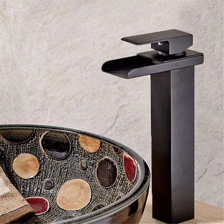 Basin Faucet Bathroom Sink Faucet Faucet Bath Copper Black Antique Hot and Cold