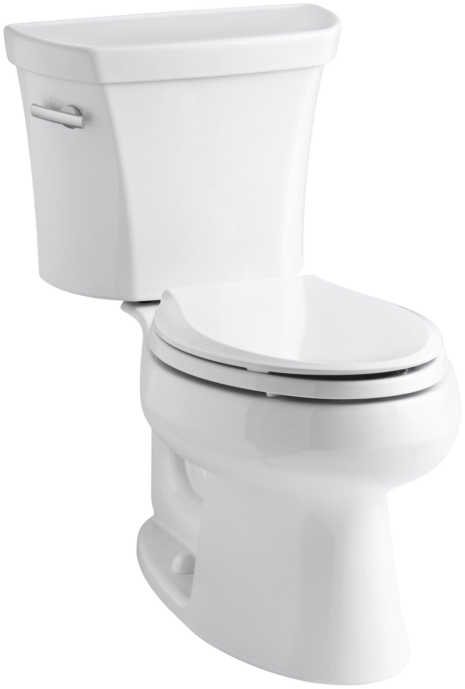 Kohler K 3998 0 Wellworth Elongated Toilet