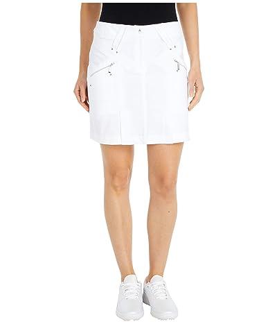 Jamie Sadock Airwear(r) Hybrid Lightweight Skort (Sugar White) Women