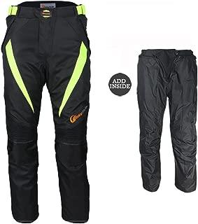 Protectwear Pantalon de moto noir Taille:  5XL Pantalon textile WCT-703