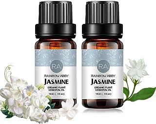 2-Pack Jasmine Oils - 100% Pure Therapeutic Grade Essential Oils - 2x10 mL