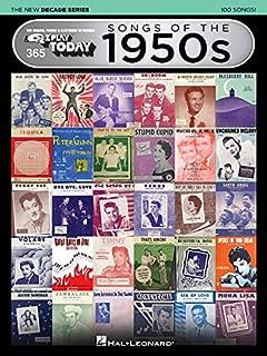 50's sheet music free