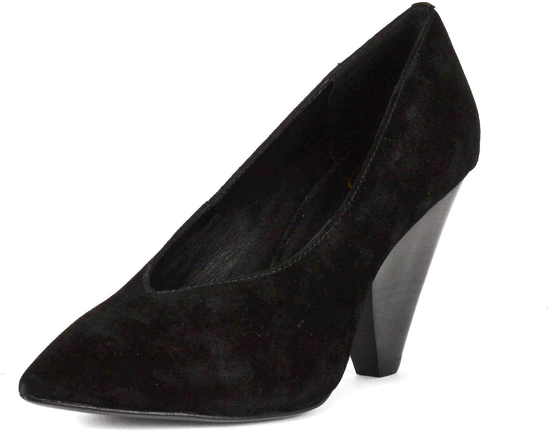 Ash Footwear Deal Décolleté in Pelle Scamosciata Nera - Sautope da Donna