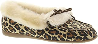 with Orthaheel Technology Women's Juniper Moccasin,Tan Leopard,US 7 M