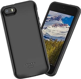 fcb8345d6cb Forhouse Funda batería iPhone SE 5SE 5 5S, 4000mAh Funda de Carga  Protectora de Cargador