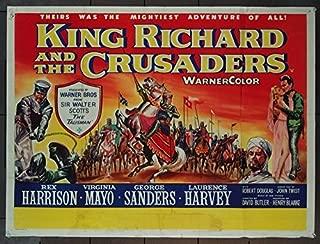 King Richard And The Crusaders (1954) Original Movie Poster