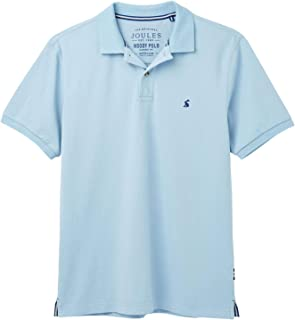 Joules Mens Woody Classic Fit Polo in PASTEL PINK