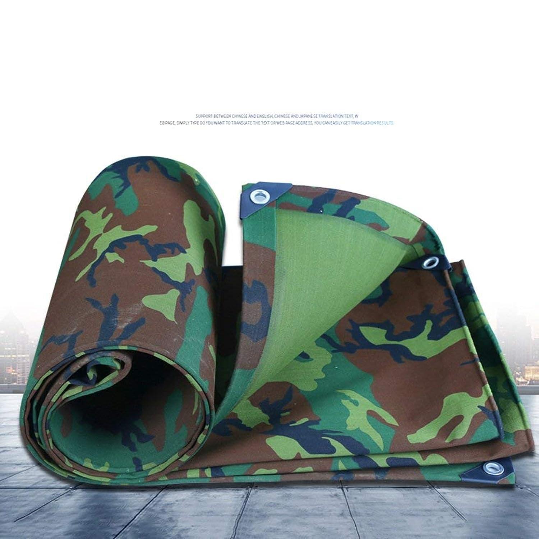 Lixingmingqi 屋外テント迷彩防水シート防水日焼け止めキャンバステント布三輪車車の小屋防錆防錆