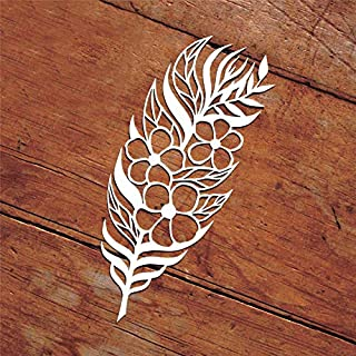 Feather Cutting Dies,Letmefun Metal Cutting Dies Stencils New 2019 for Craft Dies Scrapbooking Album Stencil Embossing Die Cut Decoration
