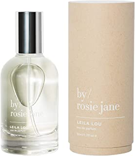 By Rosie Jane - Leila Lou - Jasmine, Pear, Fresh Cut Grass Natural Perfume Oil Roll-On, Clean Fragrance Rollerball (1.7fl oz / 50ml)