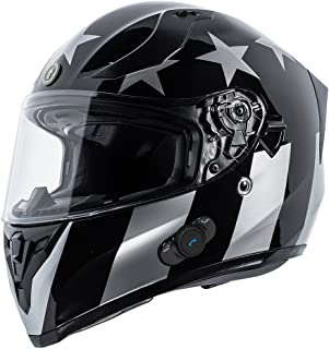 supermoto helmet with bluetooth