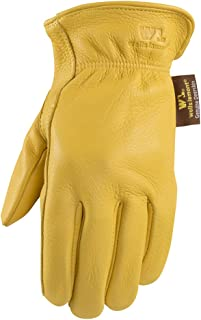 Deerskin Driving Gloves, Full Leather Work and Driving Gloves, Extra Large (Wells Lamont 962XL)