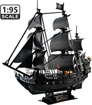 """CubicFun 3D Puzzles LED 26.6"""" Pirate Ship Sailboat Model Building Kits Toy for.."""