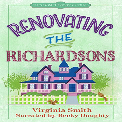 Renovating the Richardsons audiobook cover art