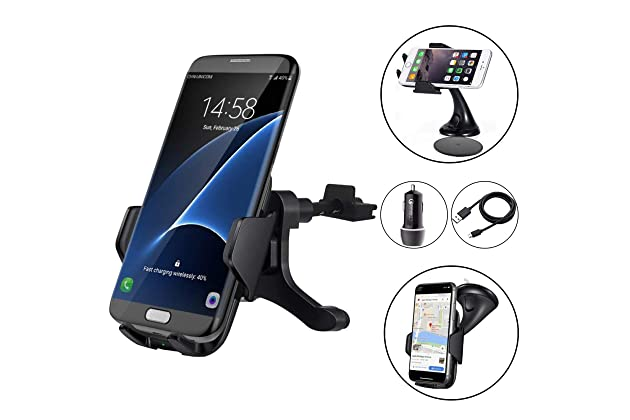 Best Iphone Charging Mounts For Car Amazon Com