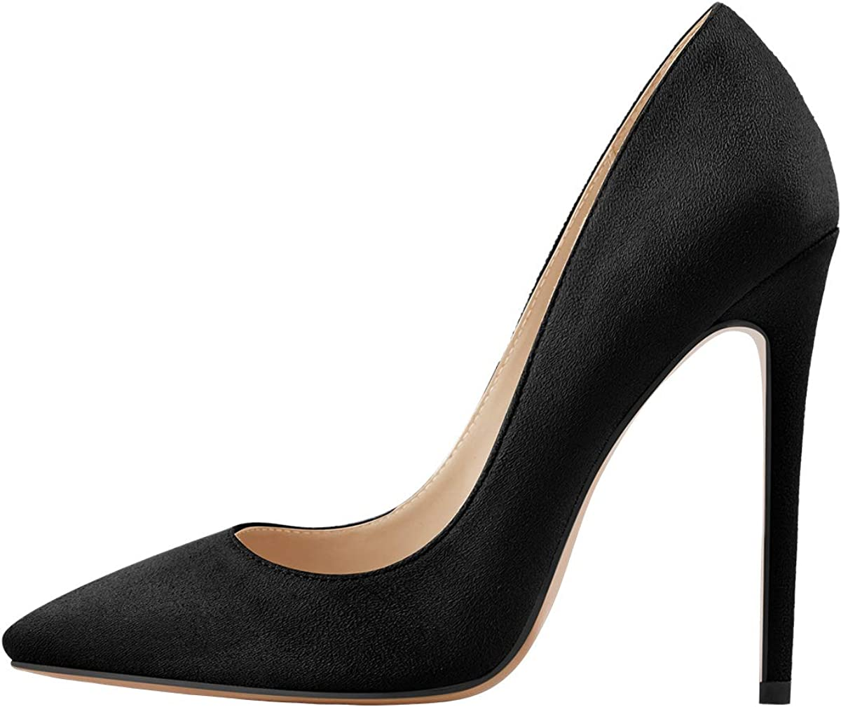 Richealnana Max 60% OFF Super special price Women's Classic Pumps Pointed High Toe Heels Sexy