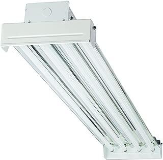 Lithonia Lighting IBC454V T5 High Output Fluorescent Bay 4-Light Fixture, White